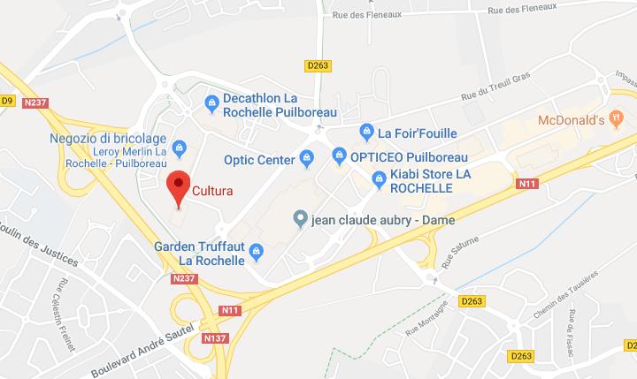 Cultura La Rochelle